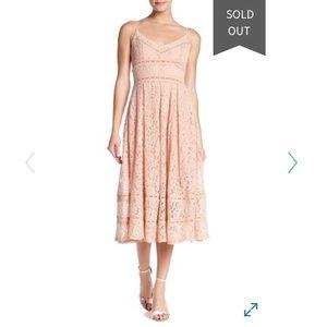 Brand new NSR midi lace dress